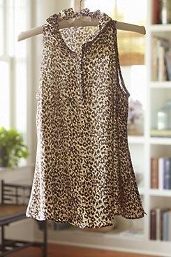 Leopard Print Top.  So classy looking