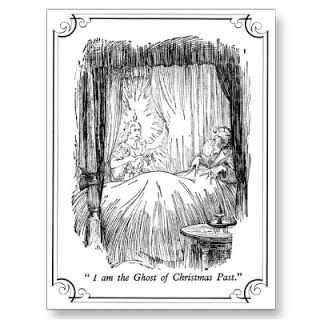 """Ghost of Christmas Past"" in Charles Dickens' A Christmas Carol:"