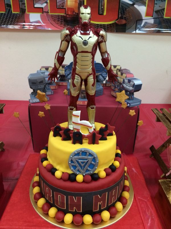 31 best Iron Man images on Pinterest Birthday party ideas