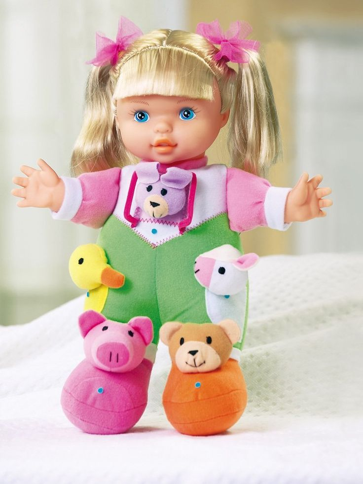 Talking Sing And Play Learning Doll