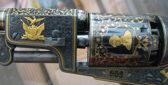 Colt Third Model Dragoon Percussion Revolver Samuel Colt