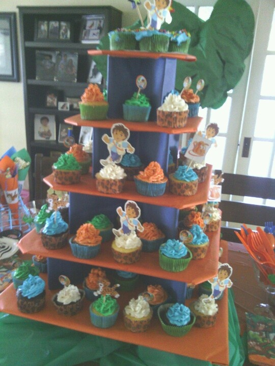 Best My Grandson S GoDiegoGo Birthday Party Images On - Go diego go birthday cake