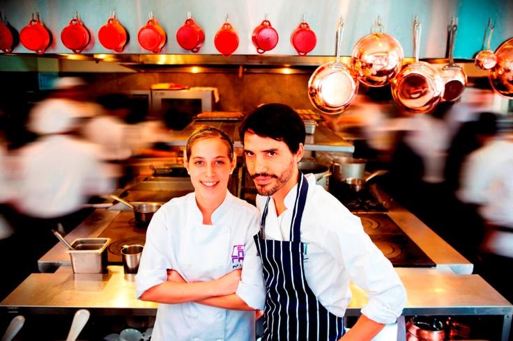 Resultado de imagem para chefs Virgilio Martinez e Pía León