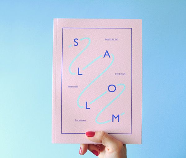 SLALOM photobook by David Heofs, Mira Anneli & Ann Ntokalou - Editor & Graphic Design / Bandiz Studio 2014