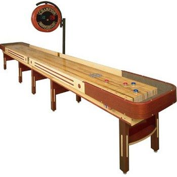 bar shuffle board.. a man cave must-have | game room | Pinterest
