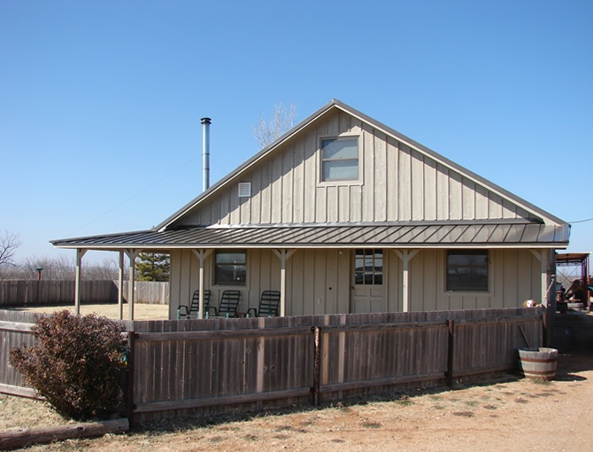 Pictures of ranch houses with blue metal roofs location for Metal roof ranch house
