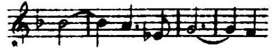 The Geschwisterliebe (Love for brothers and sisters) Leitmotive from Wagner's Die Walküre.