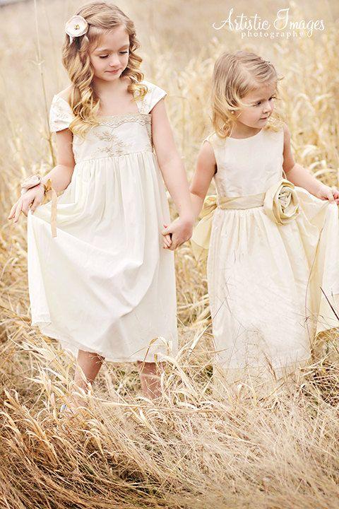 17 best Wed: Flower Girl Dresses images on Pinterest | Flower ...