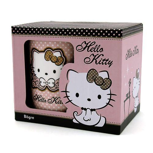 Pöttyös Hello Kitty bögre I Ajándék most webáruház