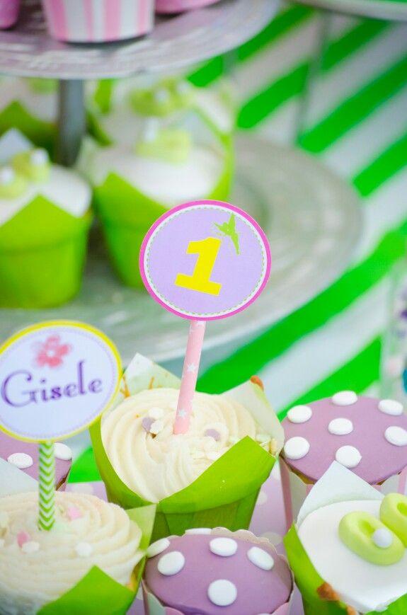 Tinkerbel cupcake  topper