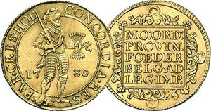 Netherlands Holland Trade Ducat and 2 Ducat  1603 to Date