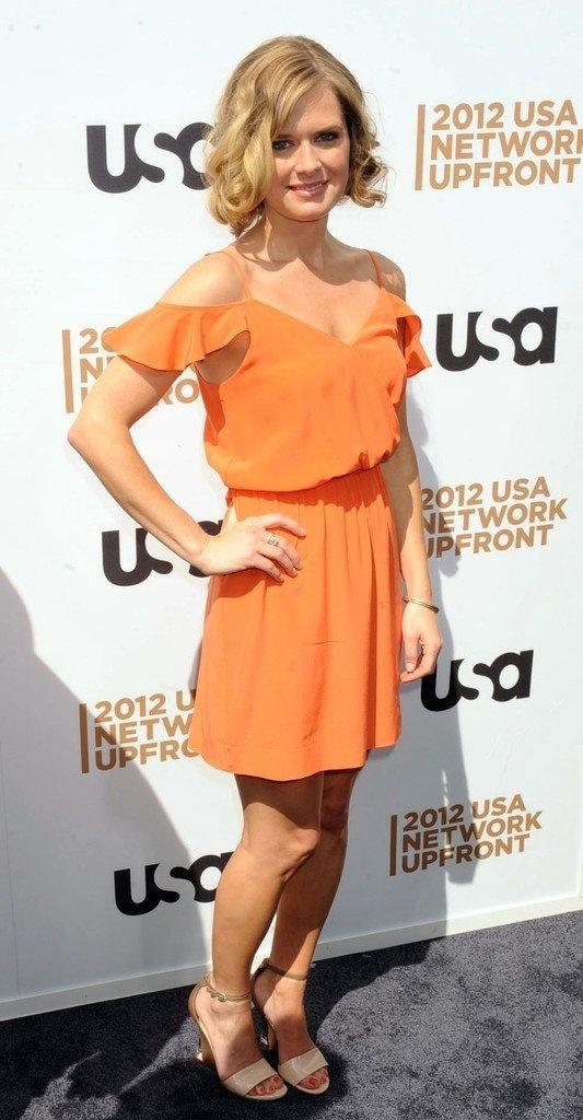 Maggie Lawson; she's beautiful!