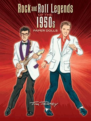 The King of the Paper Dolls takes on the King of Rock & Roll and 14 other superstars! Includes costumes for Elvis, Little Richard, Chuck Berry, Jerry Lee Lewis, Buddy Holly, and more.