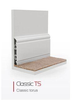 Skirting Board Heating, Classic Torus TS - DiscreteHeat ThermaSkirt