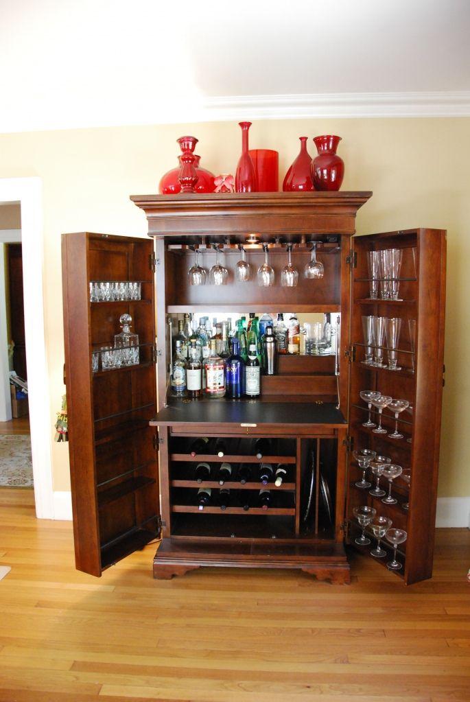 armoire bar (martha stewart for bernhardt)