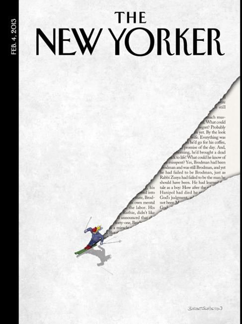 cover of The New Yorker magazine January 2013 |  Artwork by Birgit Schõssow ; Art editor Françoise Mouly  http://www.newyorker.com/