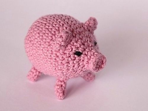 Piglet Amigurumi Free Pattern : 124 best animals pigs images on pinterest crochet animals
