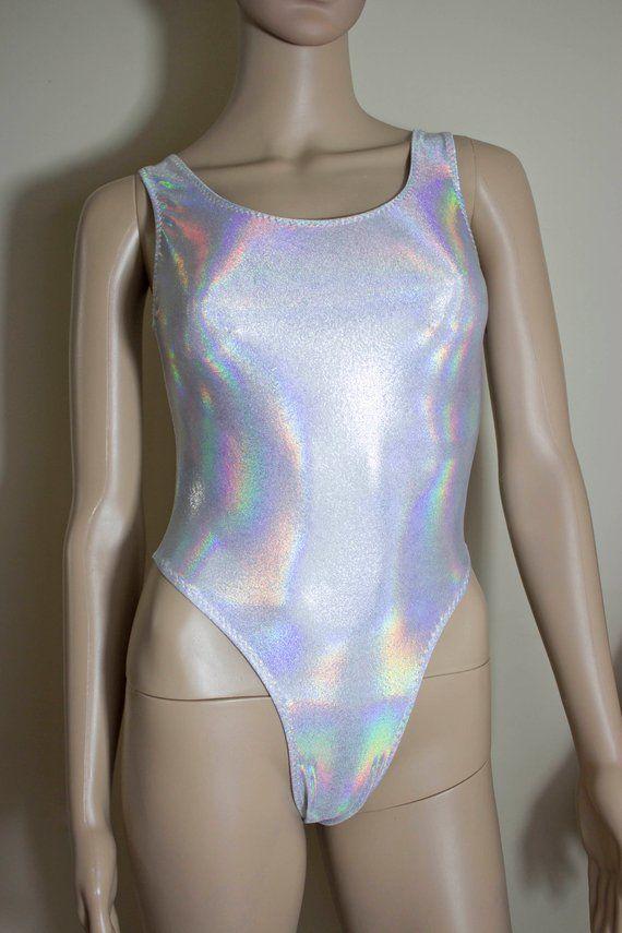 1232c98fb3 80s Thong Workout Bodysuit Mystique Spandex Thong Bodysuit