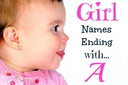 Unique & uncommon girl names ending with A that includes meanings, origins, popularity, pronunciations, sibling names, and more! #babynames
