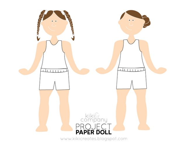 The 525 best Craft - Paper Dolls images on Pinterest | Paper dolls ...