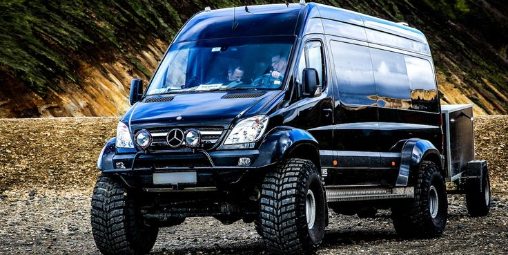 lifted 4x4 mercedes sprinters | Getunter Mercedes Sprinter (Bild: .christoph.G. - Flickr.com - CC BY ...