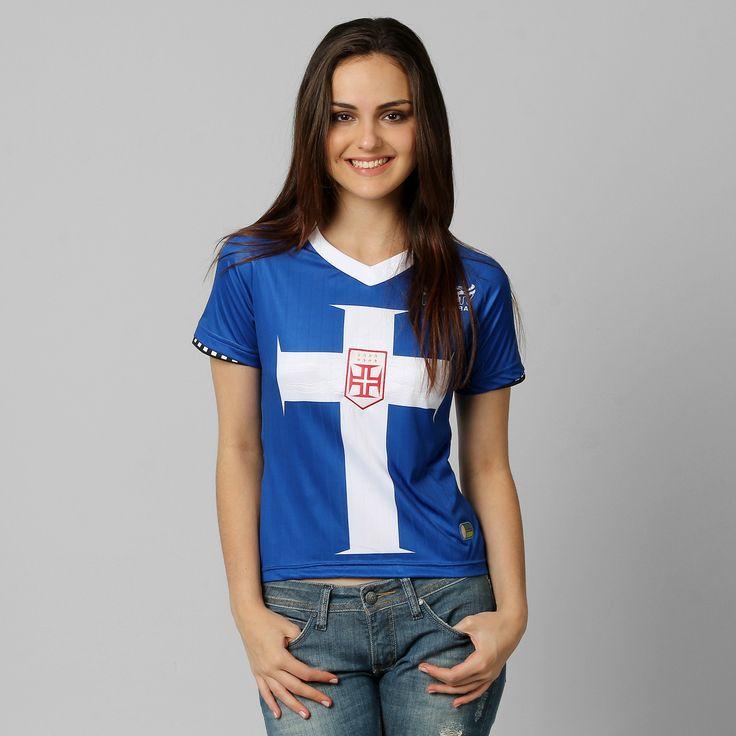 Netshoes - Camisa Feminina Penalty Vasco III 12/13 nº 10