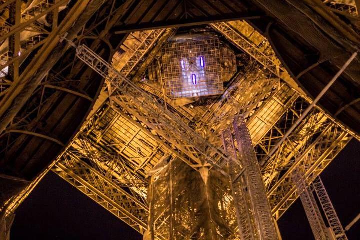Эйфелева башня,фото из фейсбука Anastasia Melnyk в Tour Eiffel.