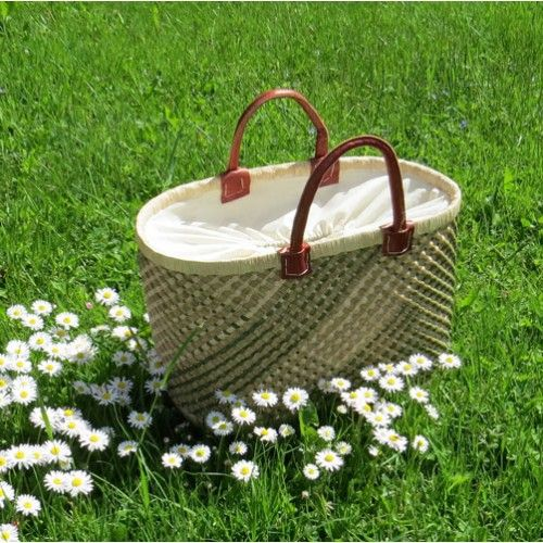 Skilfully handcrafted Fair Trade basket. #fairtrade #sustainable