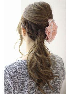 かわいい♡結婚式お呼ばれのヘアスタイル♪結婚式お呼ばれのヘアアレンジ♪ロングヘア列席者さんの髪型参考一覧♡