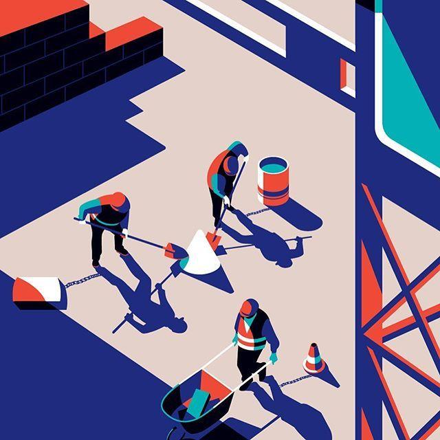 Inside illustration for @modus_magazine fair issue #insta