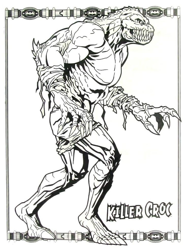 Pin On Batman Coloring Book Pages