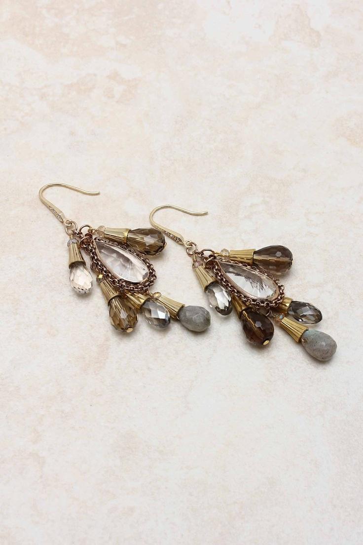 14K Simone Chandelier Earrings: Sparkle