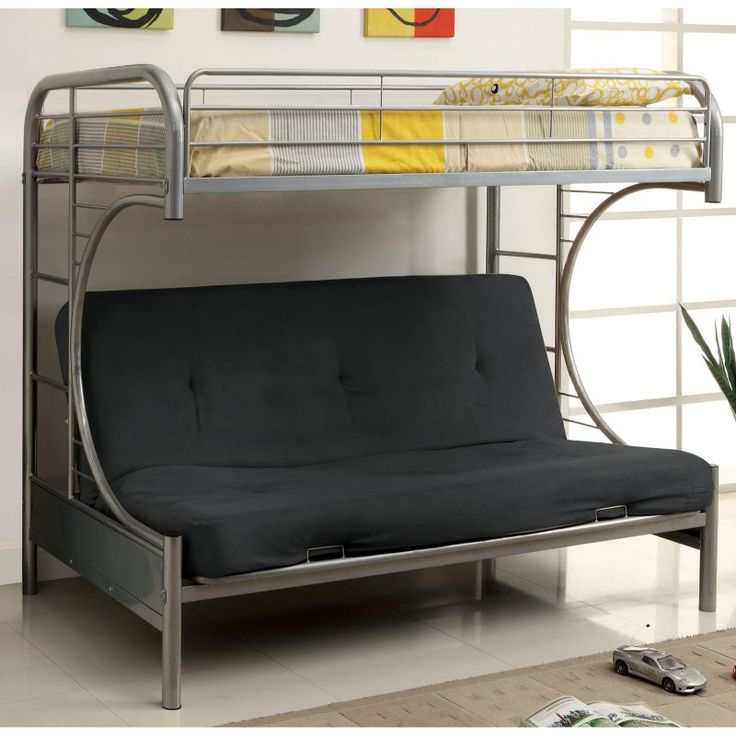 25 best ideas about Bunk bed with futon on Pinterest