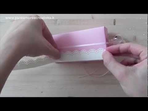 Cake favor box video tutorial
