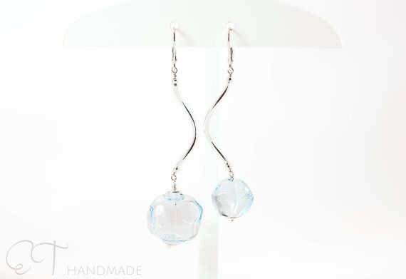 Murano glass mismatched earrings Contemporary by EThandmadeshop
