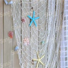 Top Quality HOT Home The Mediterranean Sea style Wall Stickers big fishing net decoration home decoration wall hangings HO673216(China (Mainland))