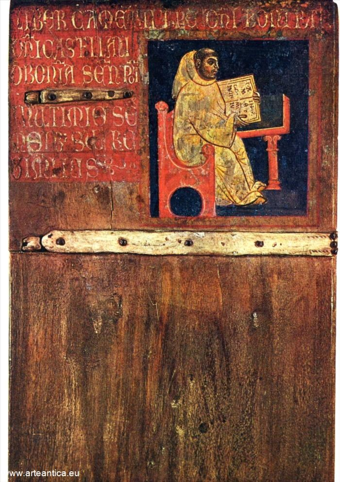 Frate Ugo, Camarlingo, frate di S. Galgano. Del 1258, luglio/dicembre. Autore: Giulio di Pietro. Tempera su tavola