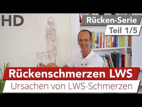Ruckenschmerzen in der Lendenwirbelsäule // Wie entstehen Schmerzen im unteren Rücken?