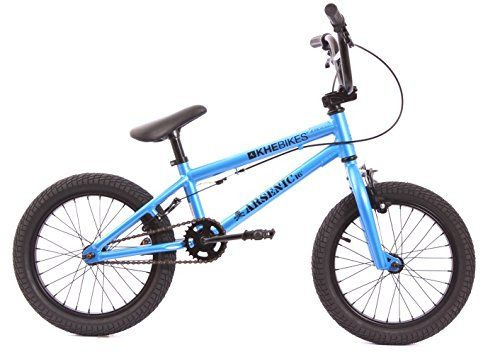 KHE BMX ARSENIC 16-inch bike blue aluminium, 8.1 kg only.