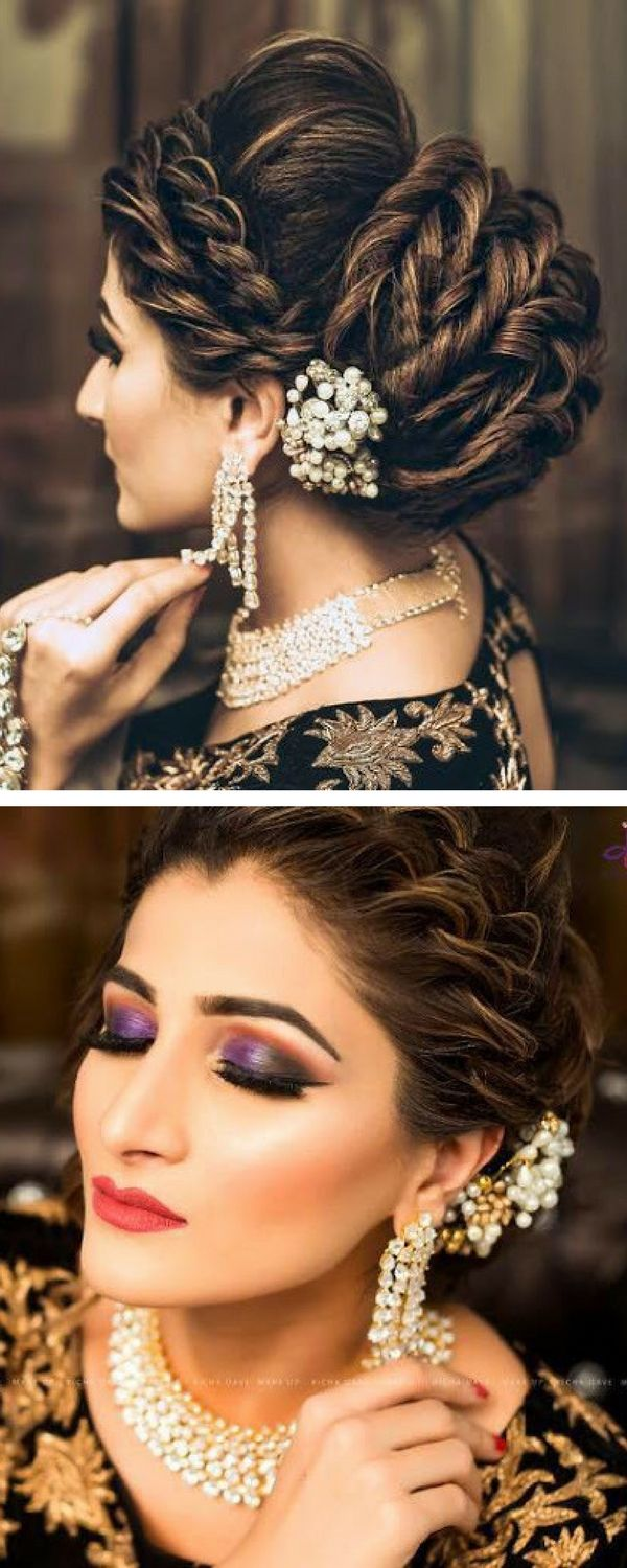 678 best hairstyle images on pinterest | hairstyles, marriage and