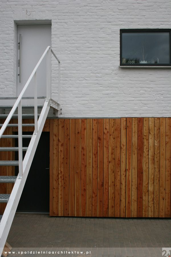 And now, No.1: The Larch - wooden elevation