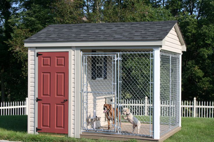 Best 25+ Outdoor Dog Kennels Ideas Only On Pinterest