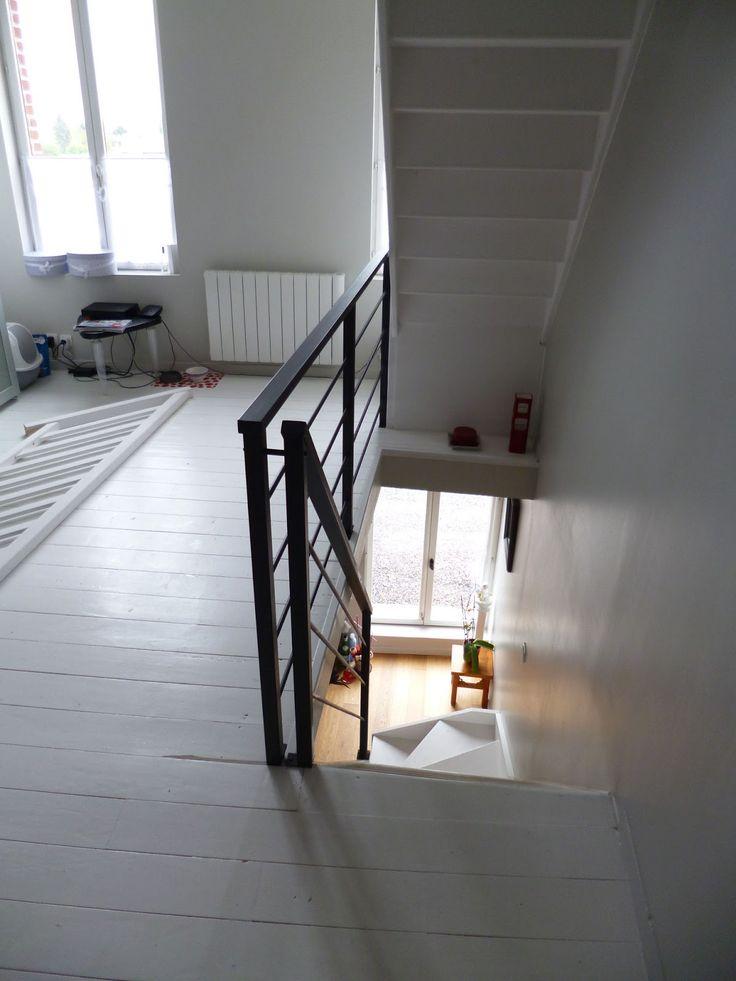 Blog de La Maison de l'Imaginarium - Fabrication de meubles de style industriel: Garde-corps tout en métal pour escaliers et paliers