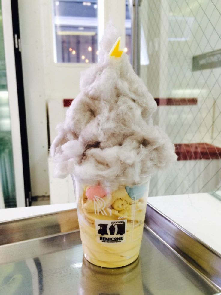"""9 Unique Ice Cream Places to Eat in Seoul - """"Another recommended Seoul ice-cream shop is Remicone, which sells soft serve ice-cream in 3 flavours: milk, salted caramel and chocolate. Its real strength lies in its extensive list of toppings which include popping candy, tiny mango macaroons, crepe pieces and hazelnut praline."""""""