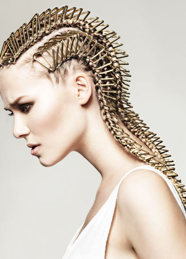 London Collection by Trevor Sorbie   Check out the rest of the stunning #hair collection at salonmagazine.ca