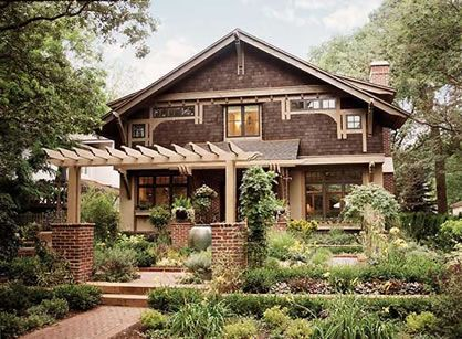 Urban bungalow plan id number mm 001 designed by for Characteristics of craftsman style homes
