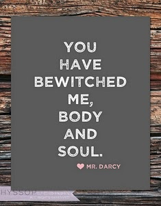 every girl needs a Mr. Darcy