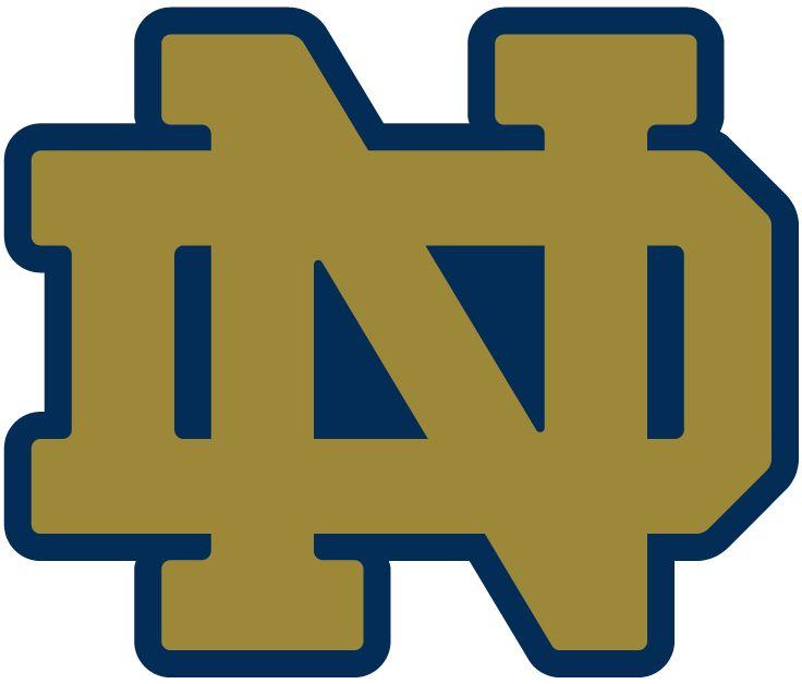 Notre Dame Stencil | Notre Dame Logo