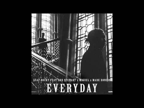 A$AP Rocky - Everyday feat. Rod Stewart x Miguel x Mark Ronson (Audio) - YouTube