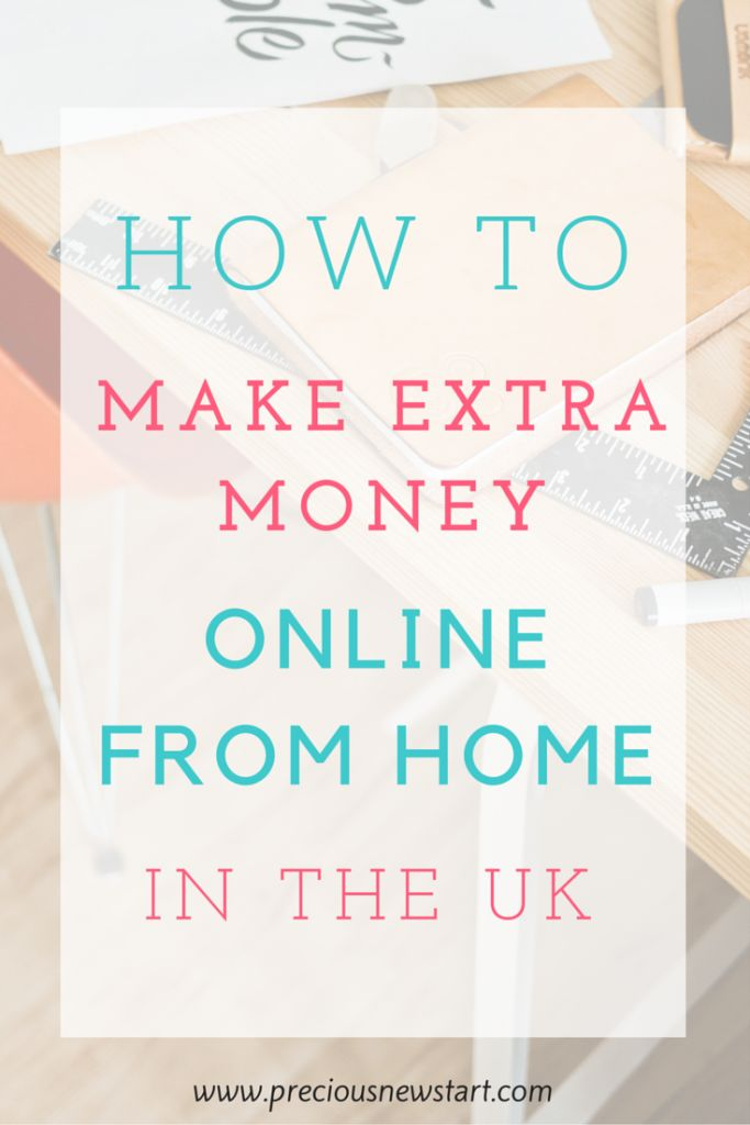 How To make extra money online from home in the UK. If you're in the UK and looking for some extra ways to make money online,  I'd definitely recommend checking out this blog posts for some ideas.